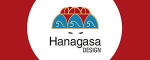 Hanagasa Designのリンクバナー(中サイズ)