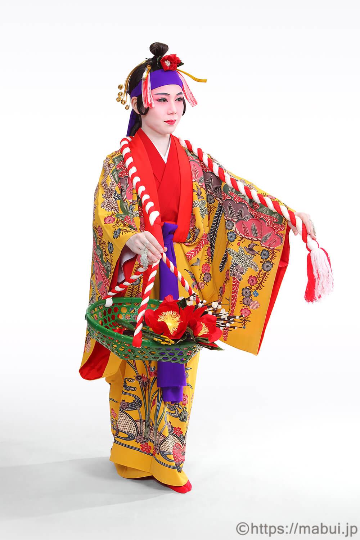 柳の舞踊写真