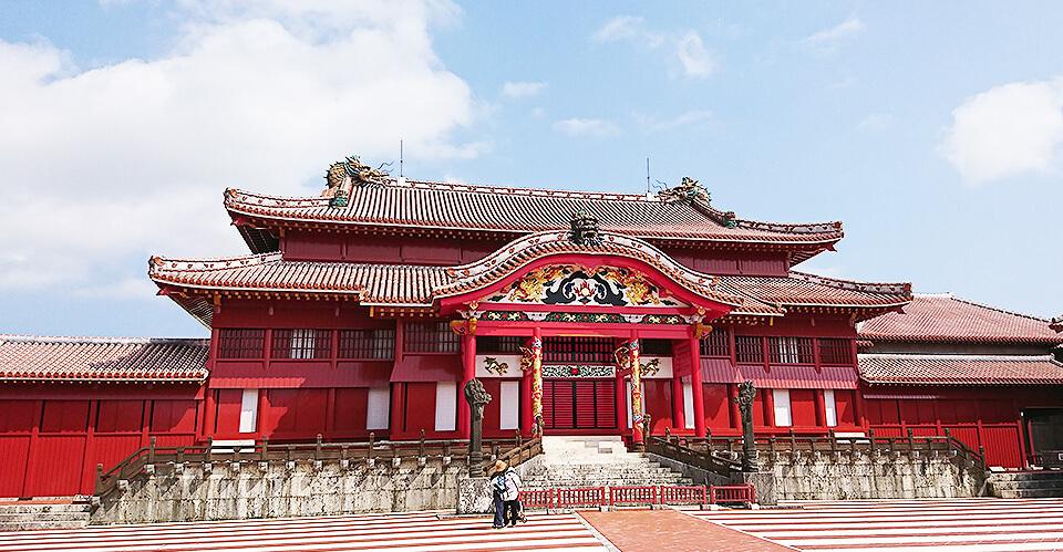 首里城正殿の画像