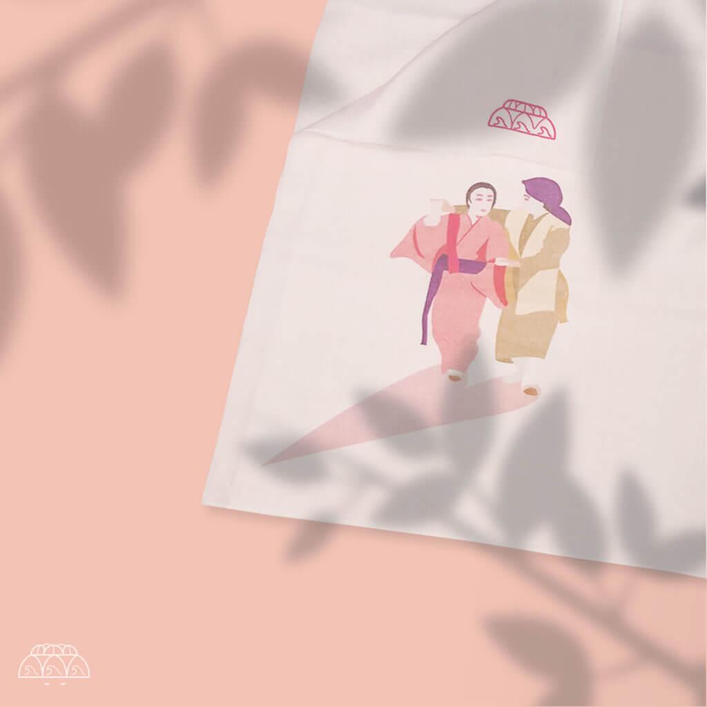 「加那よー天川」のティサージ(手巾)の画像